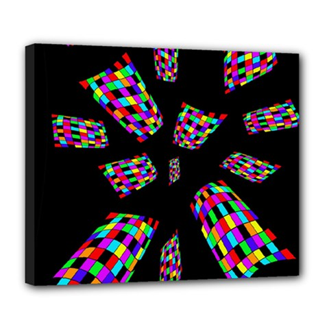 Colorful abstraction Deluxe Canvas 24  x 20