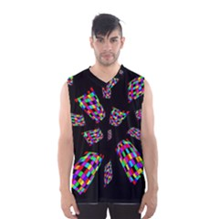 Colorful abstraction Men s Basketball Tank Top