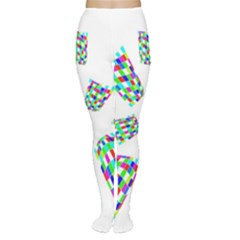Colorful abstraction Women s Tights