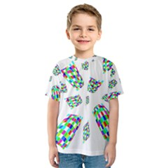 Colorful abstraction Kid s Sport Mesh Tee