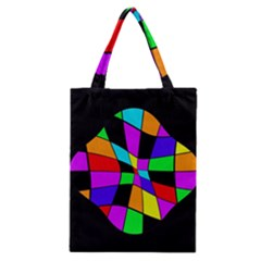 Abstract colorful flower Classic Tote Bag