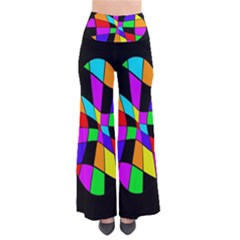 Abstract Colorful Flower Pants
