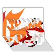 1467945058 800px THANK YOU 3D Greeting Card (7x5)