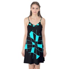 Blue abstract flower Camis Nightgown