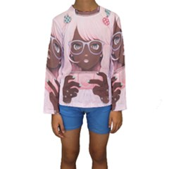 Gamergirl 3 P Kid s Long Sleeve Swimwear