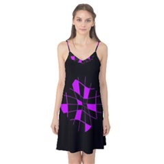 Purple abstract flower Camis Nightgown