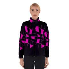 Pink abstract flower Winterwear
