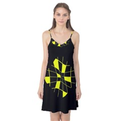 Yellow abstract flower Camis Nightgown