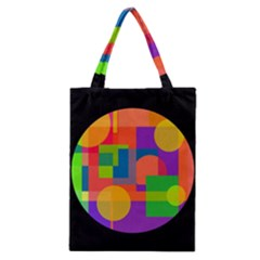 Colorful circle  Classic Tote Bag