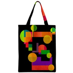 Colorful abstraction Zipper Classic Tote Bag