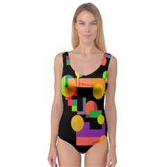 Colorful abstraction Princess Tank Leotard