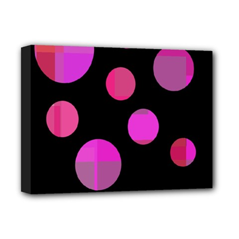 Pink abstraction Deluxe Canvas 16  x 12