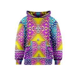 Music Tribute In The Sun Peace And Popart Kids  Pullover Hoodie