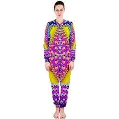 Music Tribute In The Sun Peace And Popart Onepiece Jumpsuit (ladies)