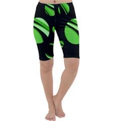 Green balls   Cropped Leggings