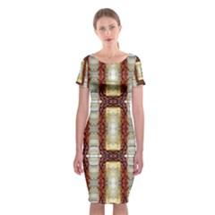 Suffield Lit30215011009 Classic Short Sleeve Midi Dress