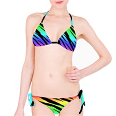 Rainbow Tiger Bikini Set