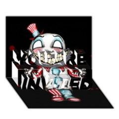 Super Secret Clown Business II  YOU ARE INVITED 3D Greeting Card (7x5)