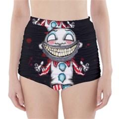 Super Secret Clown Business II  High-Waisted Bikini Bottoms