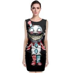 Super Secret Clown Business II  Classic Sleeveless Midi Dress