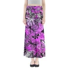 Butterfly Graffiti Maxi Skirts