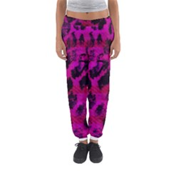 Pink Leopard Women s Jogger Sweatpants