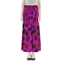 Pink Leopard Maxi Skirts