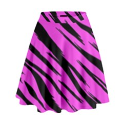 Pink Tiger High Waist Skirt