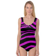 Pink Zebra Princess Tank Leotard