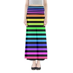 Rainbow Stripes Maxi Skirts