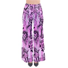 Pink Scene Kid Sketches Pants