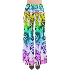Rainbow Scene Kid Sketches Pants