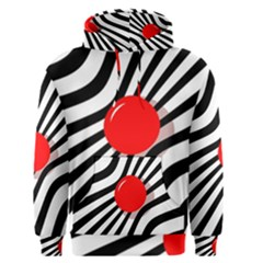 Abstract red ball Men s Pullover Hoodie