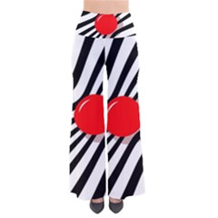 Abstract red ball Pants
