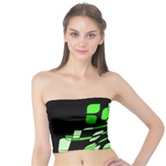 Green decorative abstraction Tube Top