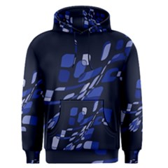 Blue abstraction Men s Pullover Hoodie