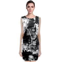 Grunge Skull Classic Sleeveless Midi Dress