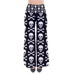Skull And Crossbones Pattern Pants