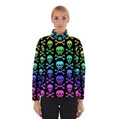 Rainbow Skull and Crossbones Pattern Winterwear