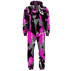 Pink Scene kid Hooded Jumpsuit (Men)