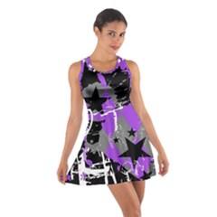 Purple Scene Kid Racerback Dresses
