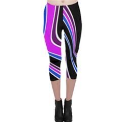 Colors of 70 s Capri Leggings