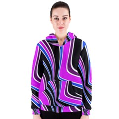 Colors of 70 s Women s Zipper Hoodie