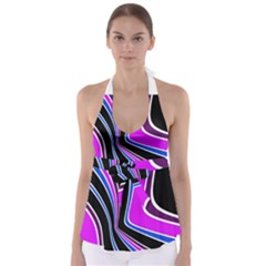 Colors Of 70 s Babydoll Tankini Top