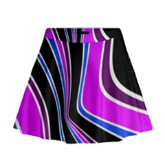 Colors Of 70 s Mini Flare Skirt