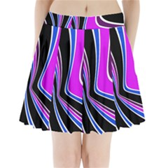 Colors Of 70 s Pleated Mini Mesh Skirt