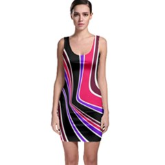 Colors of 70 s Sleeveless Bodycon Dress