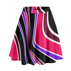 Colors Of 70 s High Waist Skirt