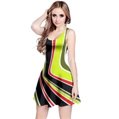 Colors of 70 s Reversible Sleeveless Dress
