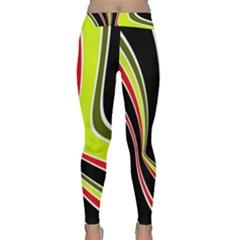 Colors of 70 s Yoga Leggings